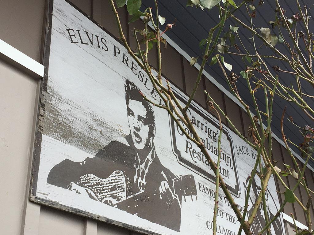Elvis at the Columbia Inn