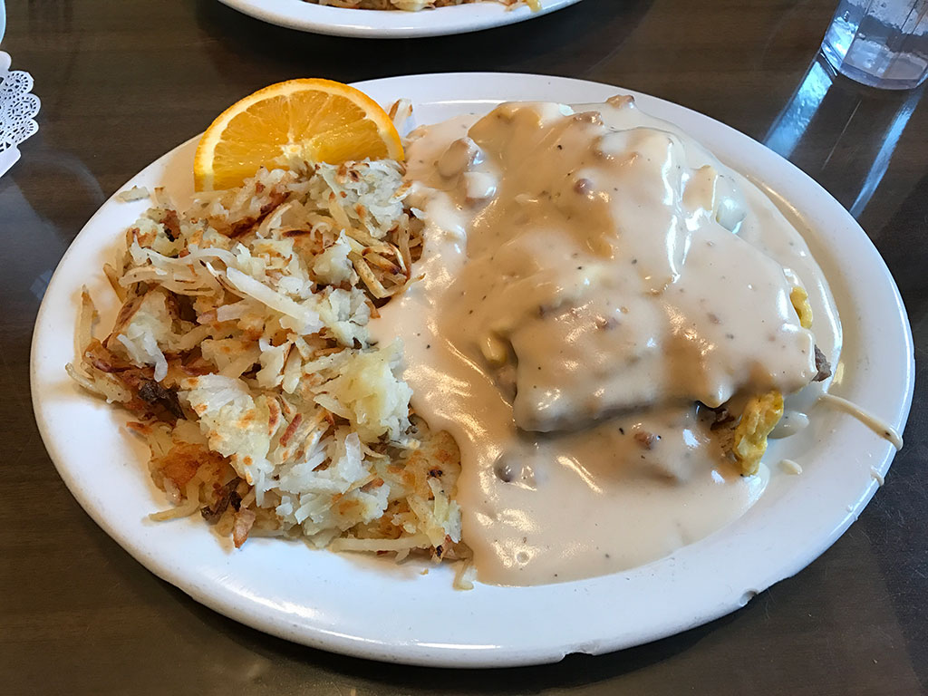 Fireside Cafe Virginia Biscuits and Gravy