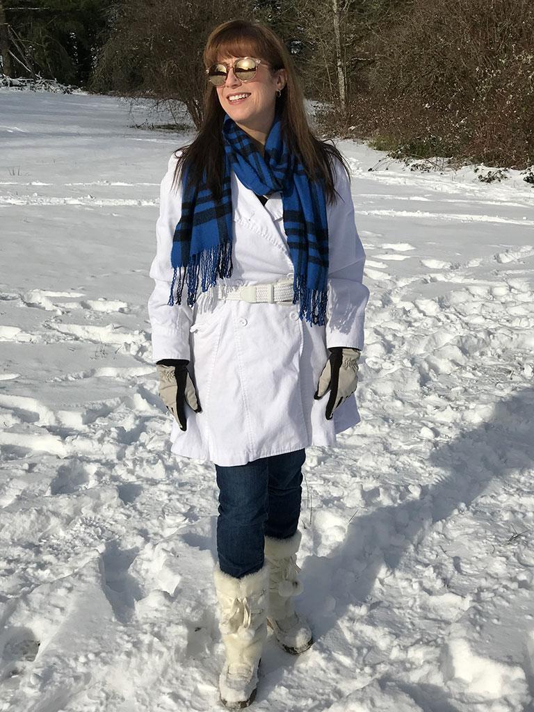 Mumzies Posing In the Snow