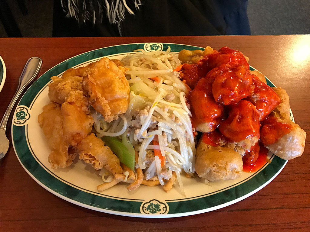 Lucky Dragon Combo Lunch