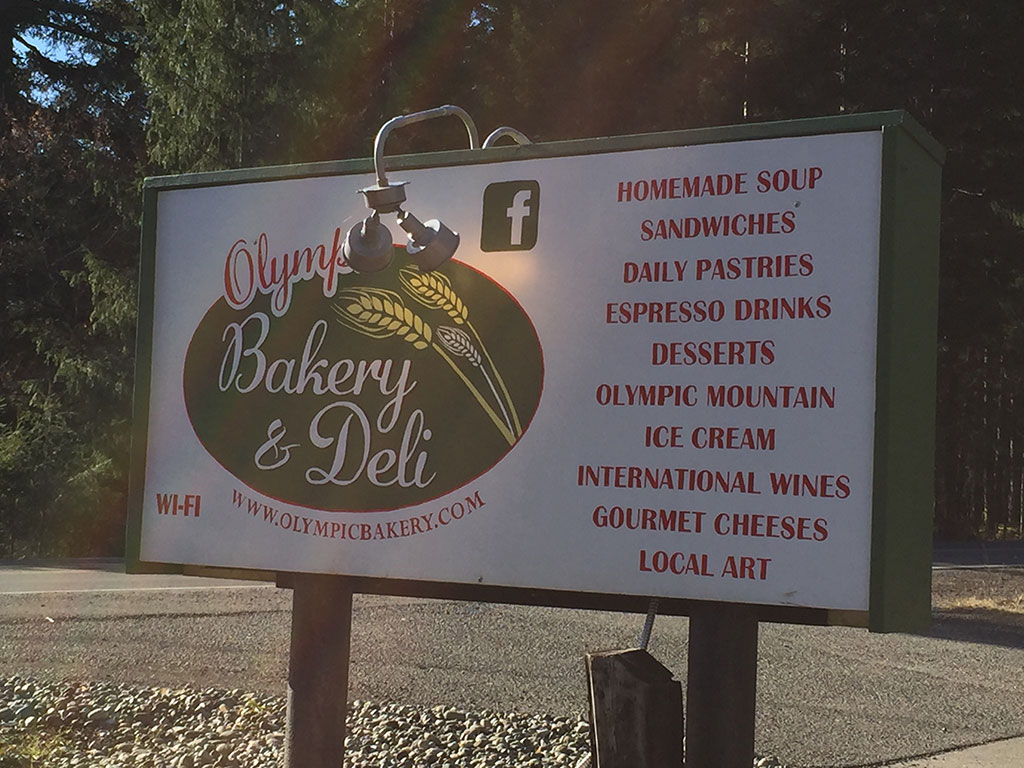 Olympic Bakery Sign