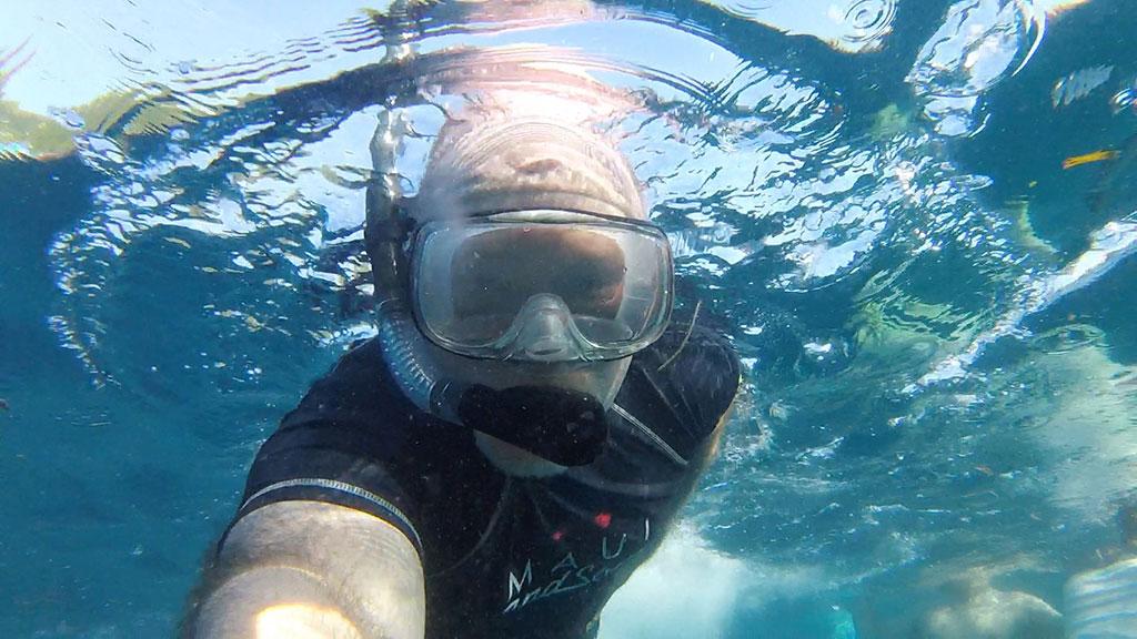 Papa Snorkeling