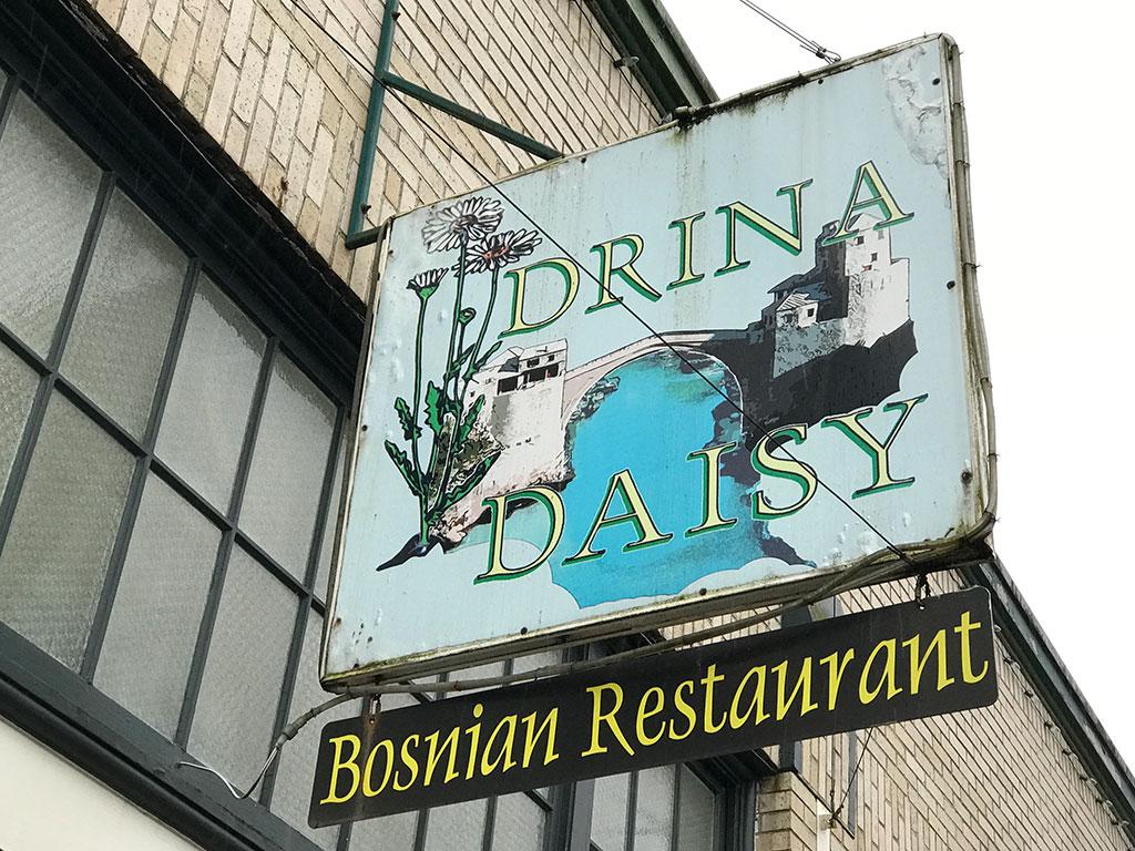 Drina Daisy Sign