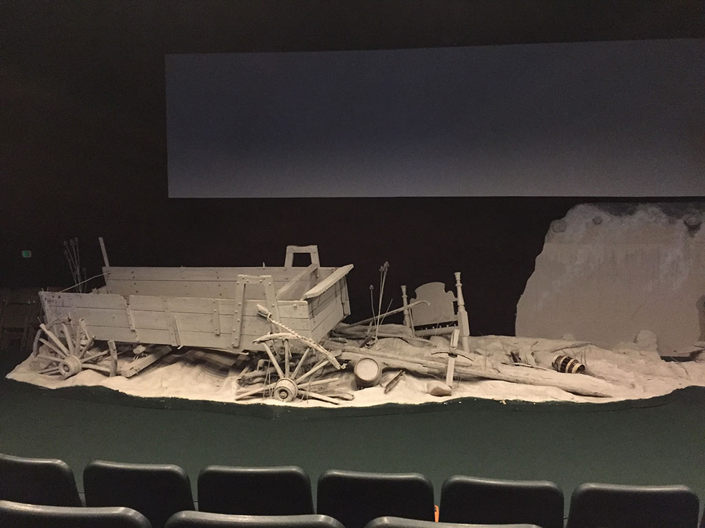 Destroyed Wagon