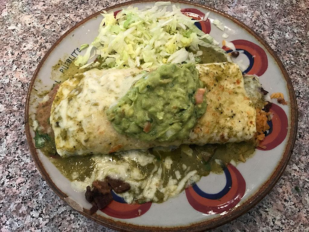 El Pueblito Burrito