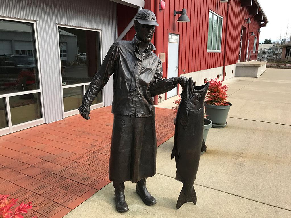 HHM Fisherman Statue