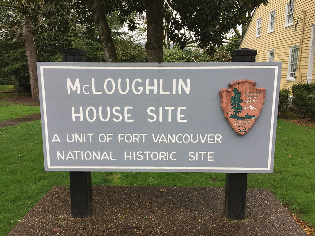 McLoughlin House Sign