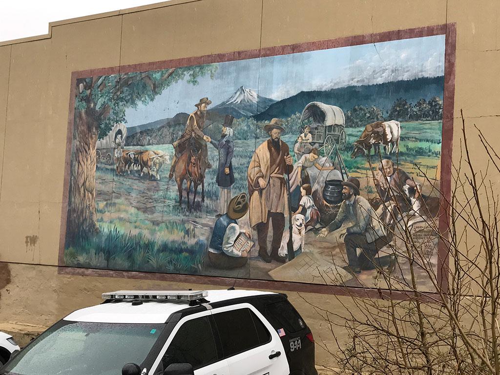 Oregon City Mural