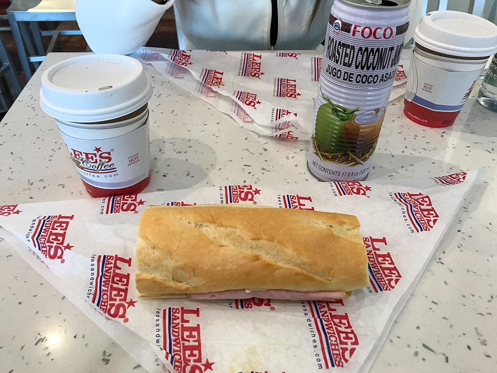 Lee's Breakfast Sandwich