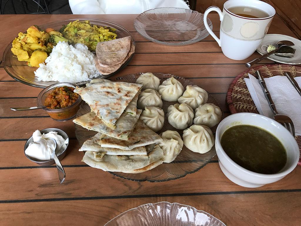 Nepali Food Spread