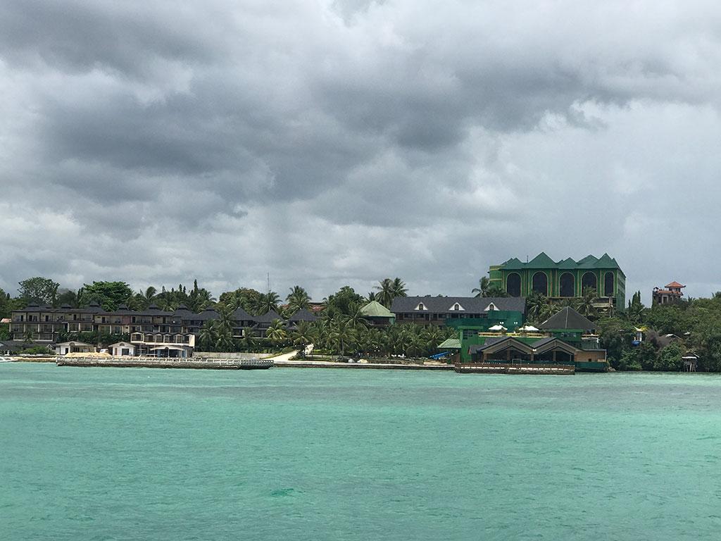 Tagbilaran Port From Ferry