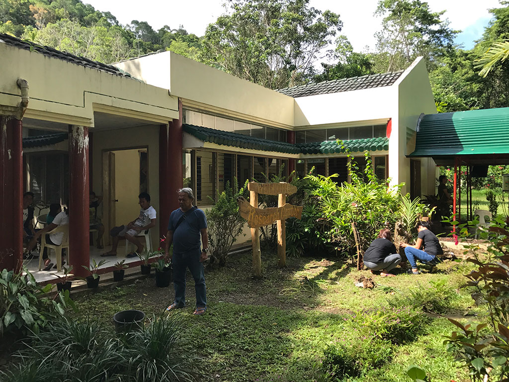 Tarsier Sanctuary Maintenance