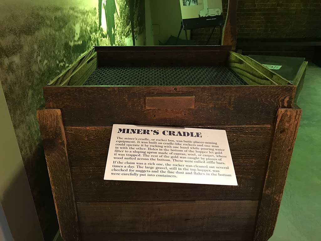 Miners Cradle