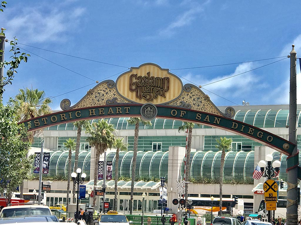 Gaslamp District Arch
