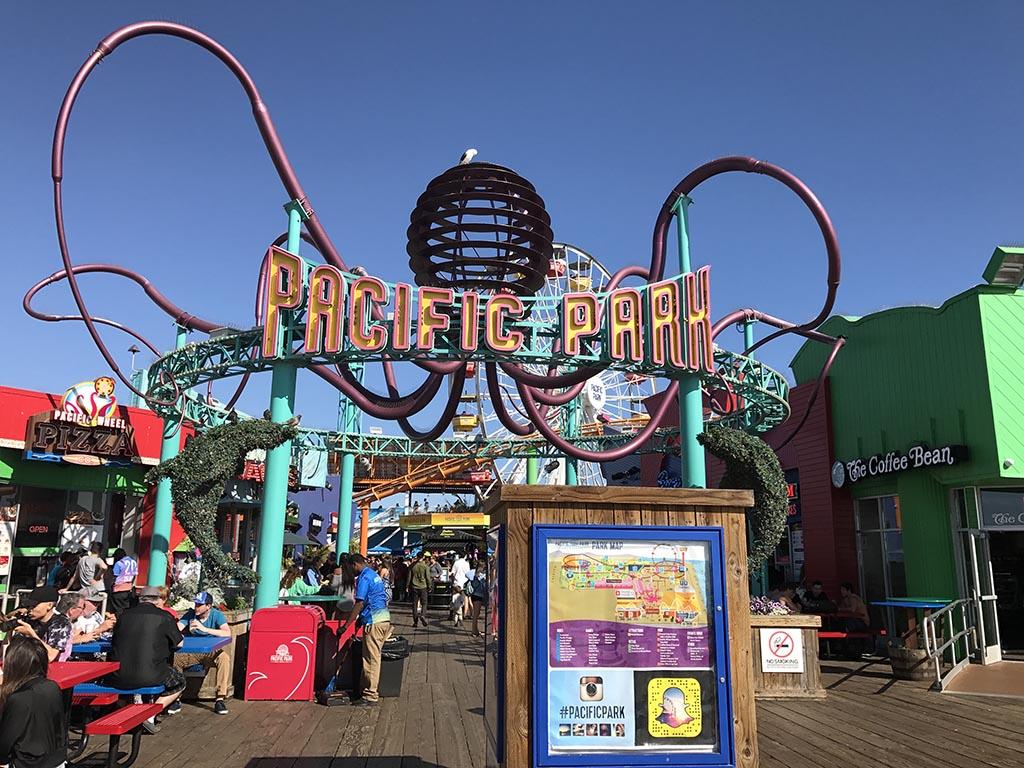 Santa Monia Pier Rides