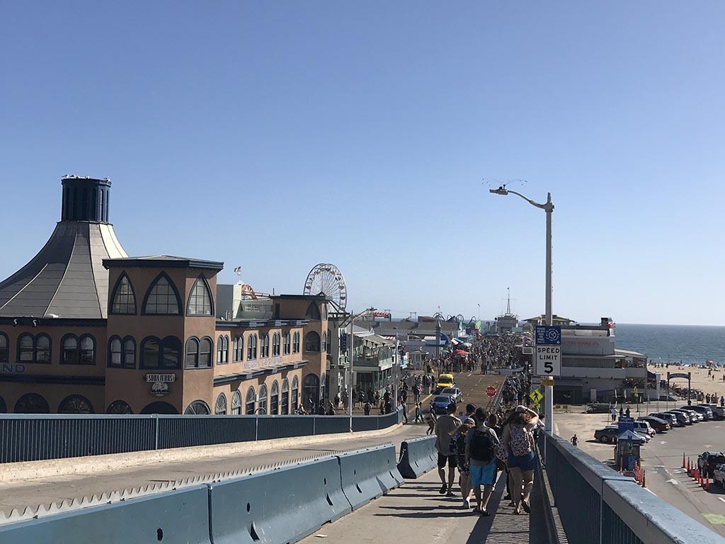 Santa Monia Pier