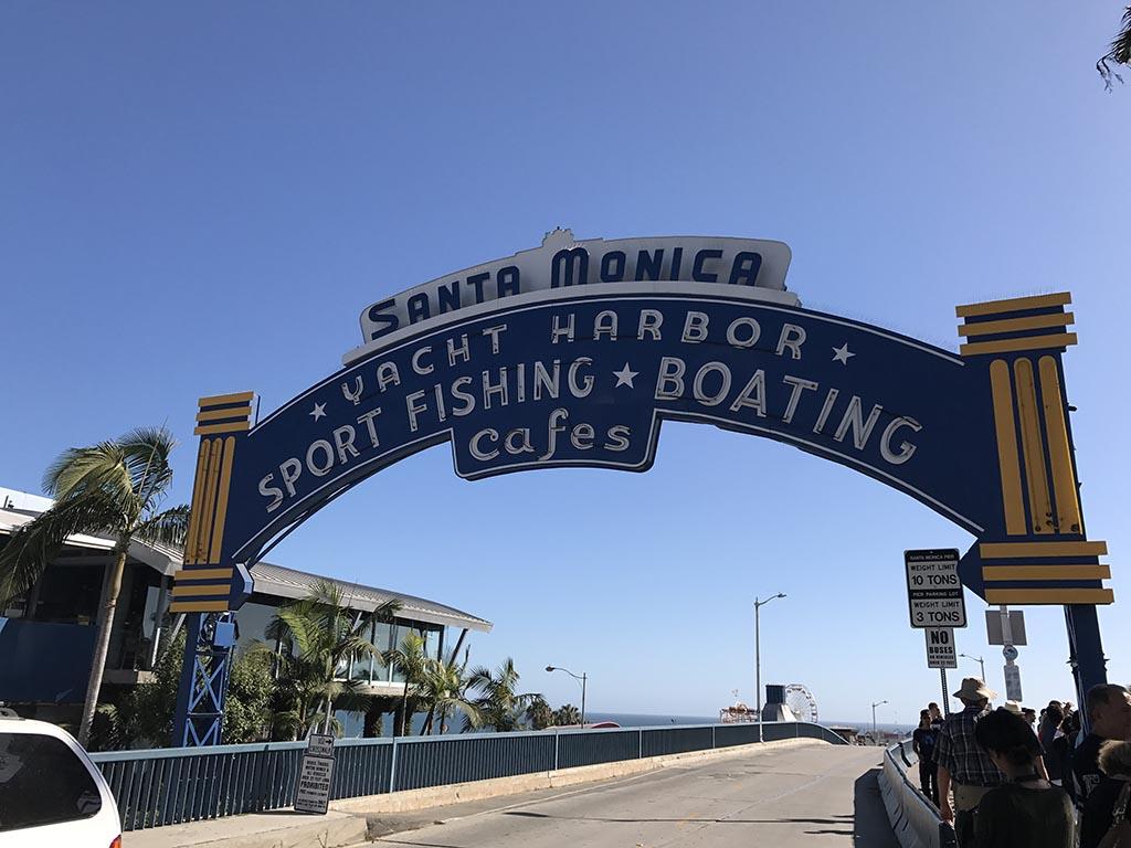 Santa Monica Pier Arch